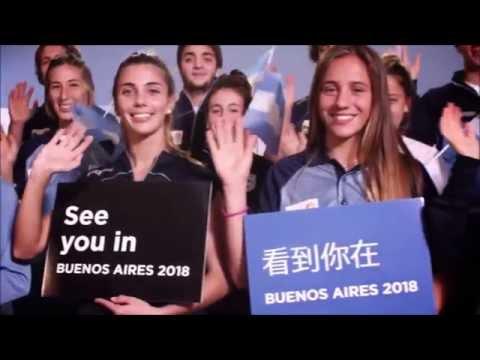 SE PRESENTÓ OFICIALMENTE LOS JUEGOS OLÍMPICOS DE LA JUVENTUD BUENOS AIRES 2018