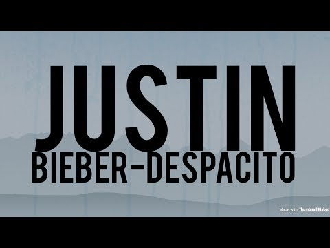 Justin Bieber - Despacito ( Jeydee Club Mix )