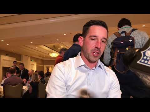 Kyle Shanahan full breakfast session at the NFL annual meeti