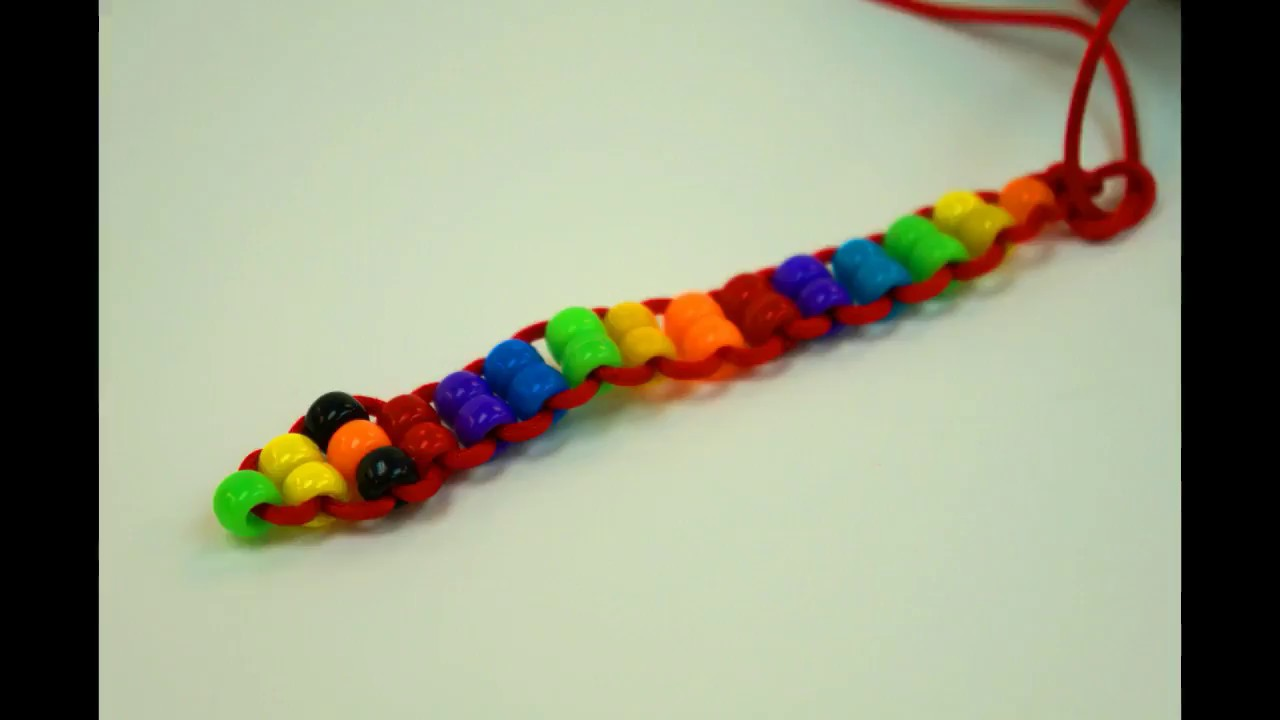 How to make a pony bead snake by Studio Stephymoo - YouTube 8b3a713626bb