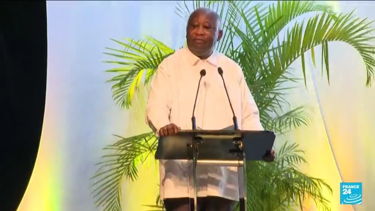 Download L'ex-président ivoirien Laurent Gbagbo lance un nouveau parti • FRANCE 24