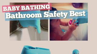 Bathroom Safety Best Sellers Collection // Baby Bathing