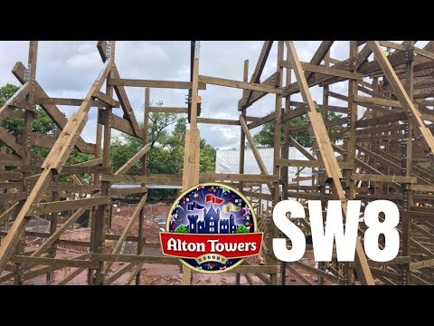 Alton Towers Sw8 Construction Update
