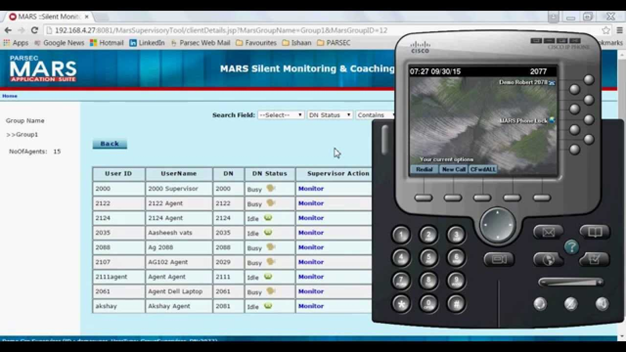 MARS Silent Monitoring & Whisper App for CUCM - Cisco DevNet