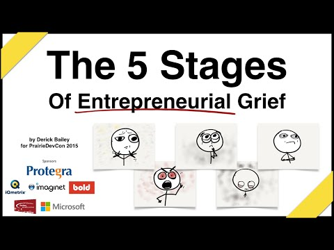 The 5 Stages of Entrepreneurial Grief