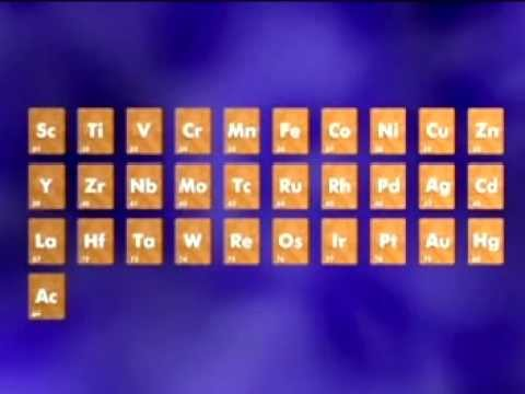 GCSE Science Revision - Transition Metals