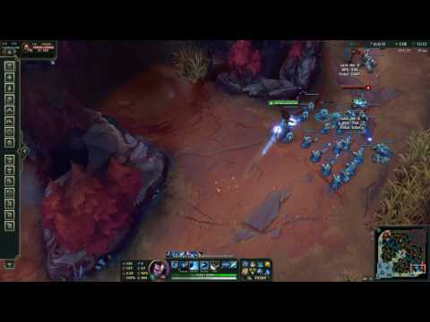 Practice Tool Yasuo Windwall Bug (Instant Cooldown Reduction Enabled)