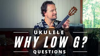 Is the LOW G STRING right for me? | The Pros + Cons | Ukulele Questions