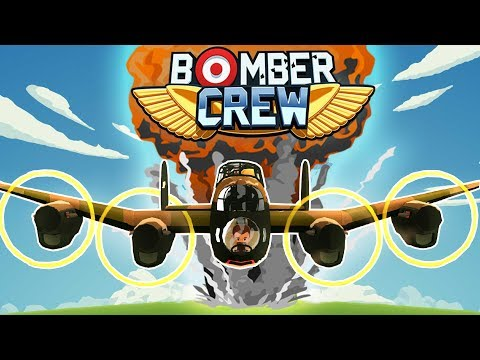 Bomber Crew - Bombing The Enemy Base! - Sub Hunt & Ammo Factory - Bomber Crew Gameplay Part 2