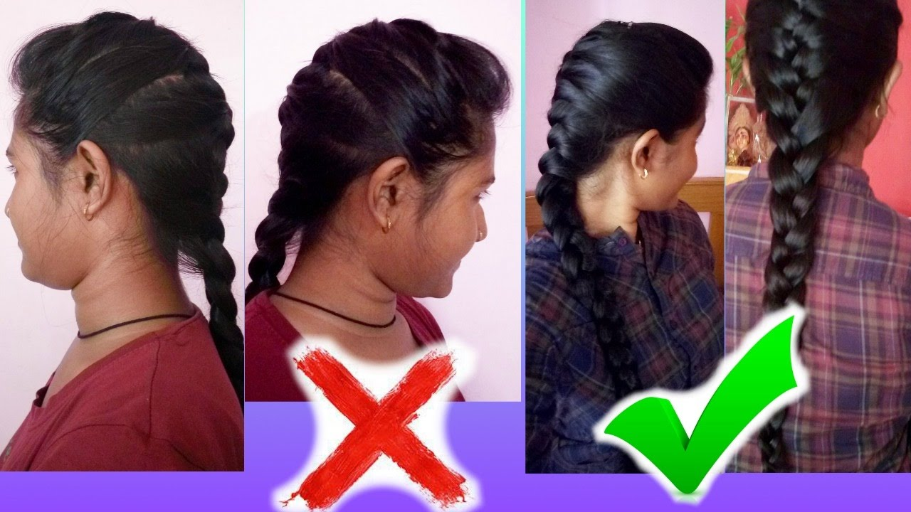How to do a french braid on yourself youtube solutioingenieria