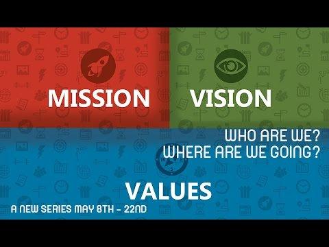 Mission Vision Values TEASER