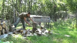 More Fire Wood For My Off Grid Tiny House