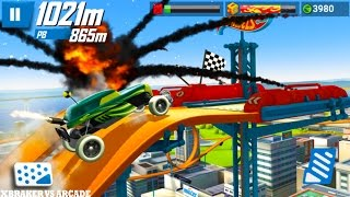 Hot Wheels Race Off - Offroad Map vs Alternative Map Compilation Android Gameplay 2017