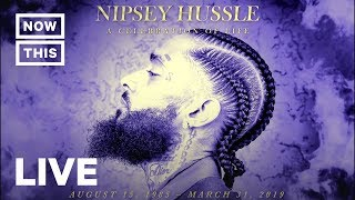 Nipsey Hussle Funeral Memorial Service — Full Stream | NowThis