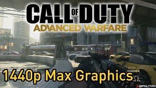 Call of Duty Advanced Warfare: 1440p Max Gameplay