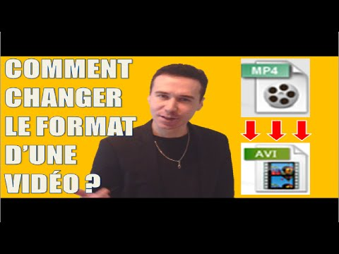 How to change the video format, convert a video file (MP4 in AVI/WMV etc. free software) ?