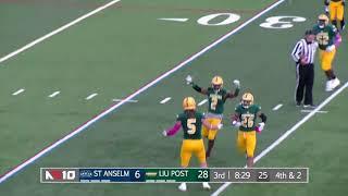 Football Highlights vs. Saint Anselm (Oct. 13, 2018)