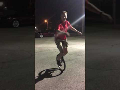 Cliff Stein Memorial Paul on Small Unicycle