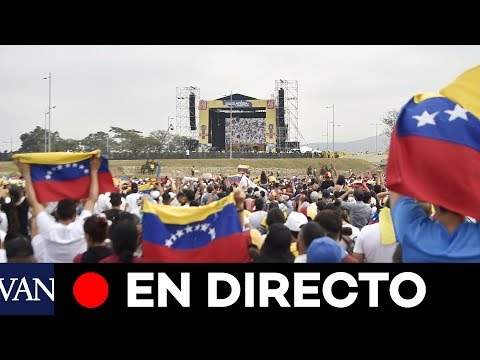 [EN DIRECTO] Concierto solidario para Venezuela en Cúcuta (Colombia)