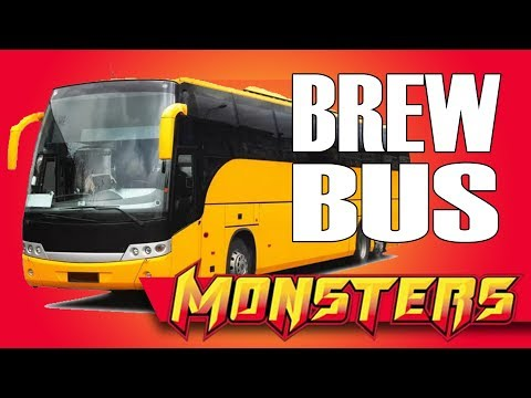 Monsters Brew Bus (3187) - Monster Brew bus VIDEO!