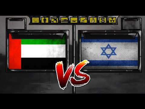 United Arab Emirates VS Israel Military power comparsion 2018