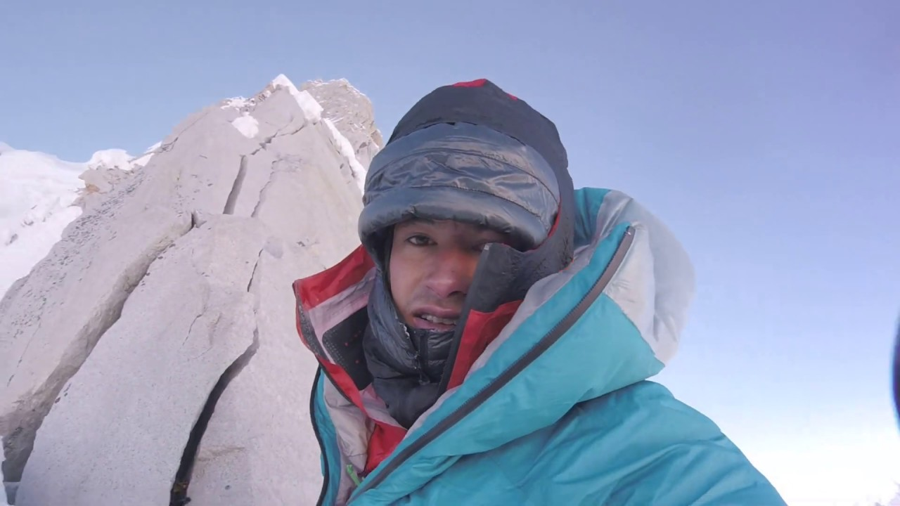 David Lama Solo First Ascent am Lunag Ri