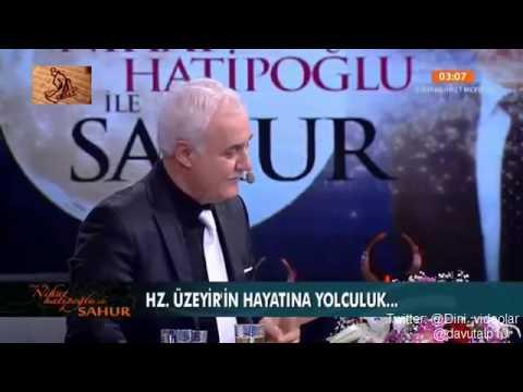 Nihat Hatipoglu - Sahur - Hz. Musa - Hz. Üzeyir (17.07.2014)