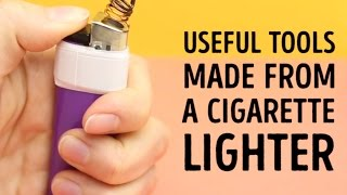Awesome things you didn't know you could do with lighters l 5-MINUTE CRAFTS