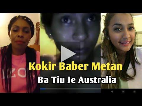 Nina Bebetok Bonkar Sigredu Kokir Baber Ba Tiu Je Australia