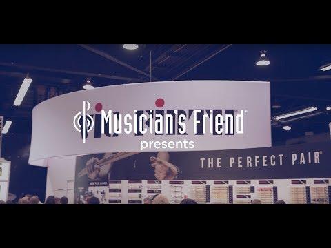 Vic Firth SIH2 Isolation Headphones at Winter NAMM 2018