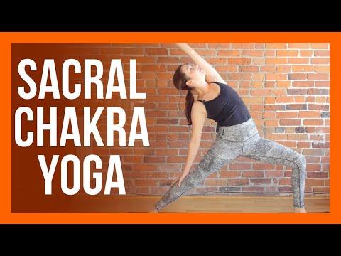 45 min Sacral Chakra Yoga - Yoga for HIPS Strength & Stretch