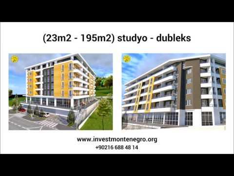 Proje Best -Podgorica'da Eylül Teslim Satılık Daireler