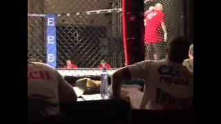 Martin Jaroš MMA fight VFC Ostrava