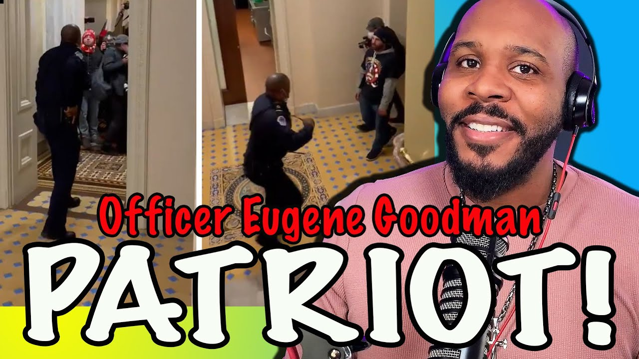 Black Officer Eugene Goodman Risks His Life To Lead Mob From Senate Chamber?! | The Pascal Show