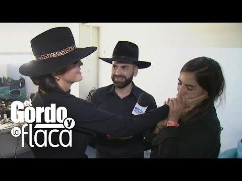 Hijos de Mariana Levy sorprenden a Ana Bárbara en medio de una entrevista | GYF