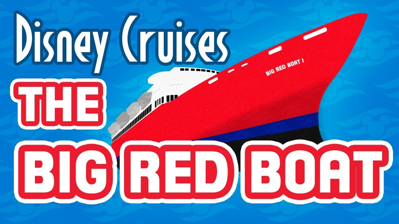 disney cruise history the big red boat and premier cruise lines