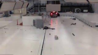 Volvo XC90 2016 Kaza Test Ve Gercek Kaza Görüntüsü
