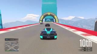 GTA 5 - Cunning Stunts DLC - ***World Record*** Downtown Loop