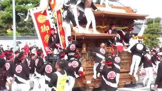 メインは、久米田寺から出てくるやり回しです。 ※後半、一部で携帯で録...