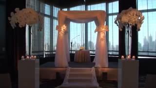 Белое Свадебное оформление