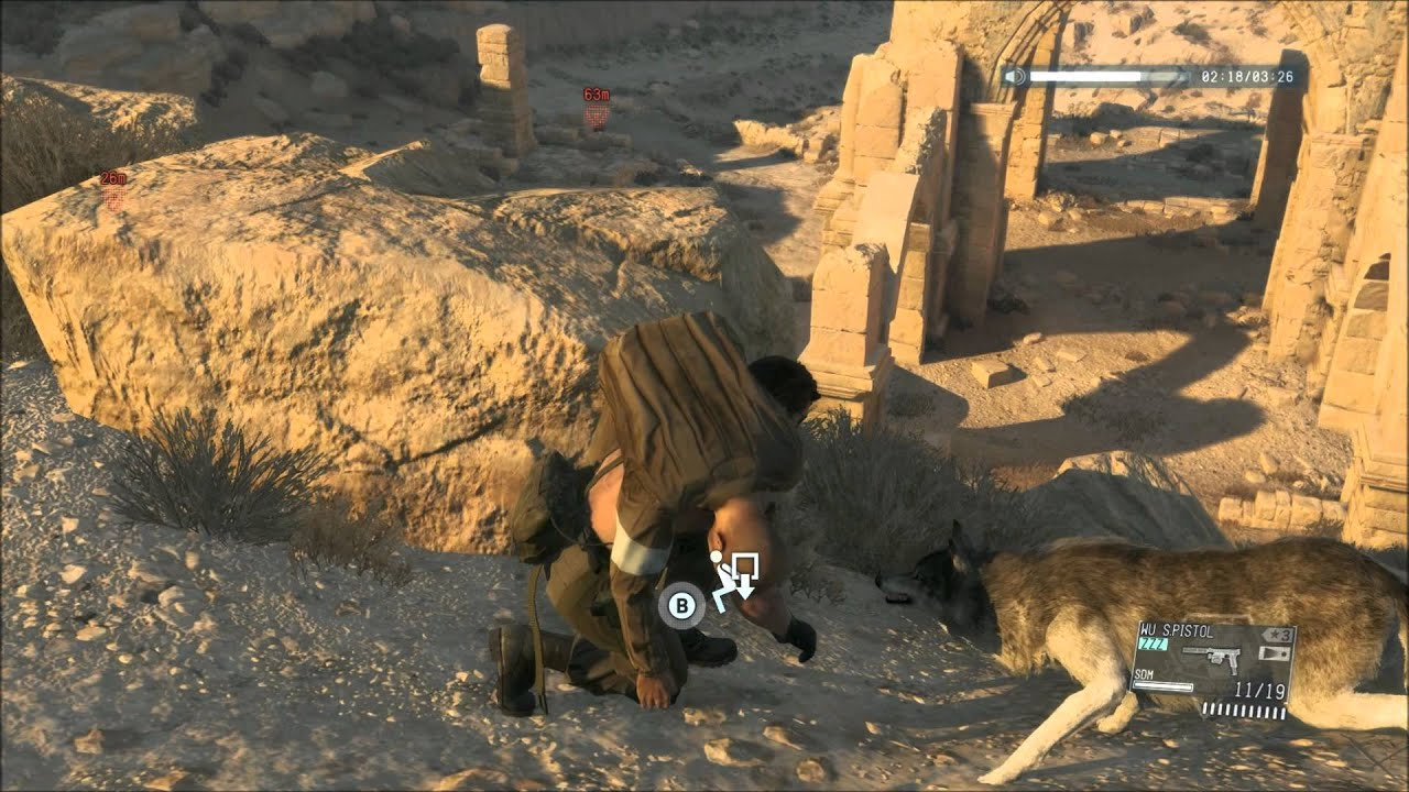 Metal Gear Solid 5 - Naked Snake and DD - Kids In America