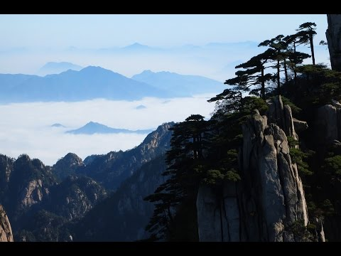 Huangshan Mountain  -  step-by-step