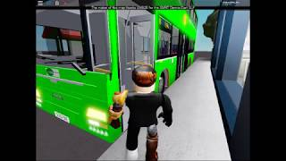 My SG Bus in Roblox Model