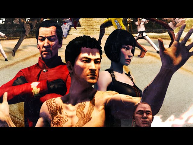 Sleeping Dogs Definitive Edition Zodiac Tournament All Cutscenes Story (Game Movie) 4K 60FPS