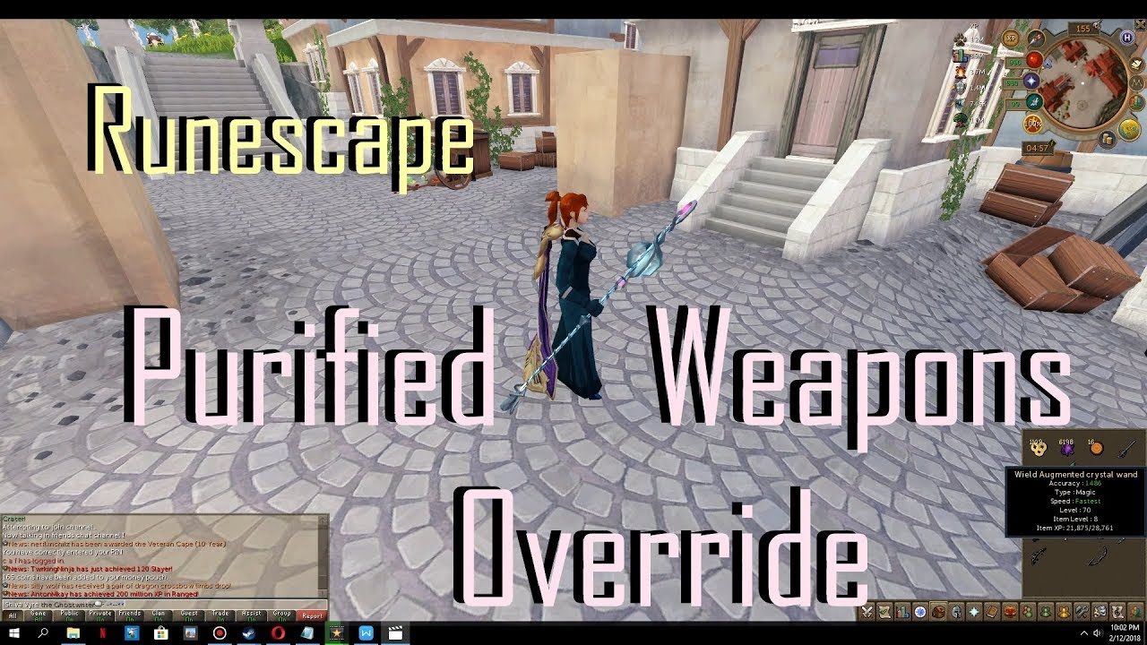 Rs Runescape 2018 Update Cavern Of Tainted Memories Purified