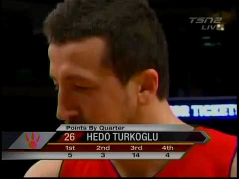 Hedo Turkoglu says Ball post game interview
