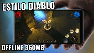 SAIU NA PLAY STORE! NOVO GAME ESTILO DIABLO MOBILE | VENGEANCE RPG OFFLINE APENAS 360MB! GAMEPLAY BR