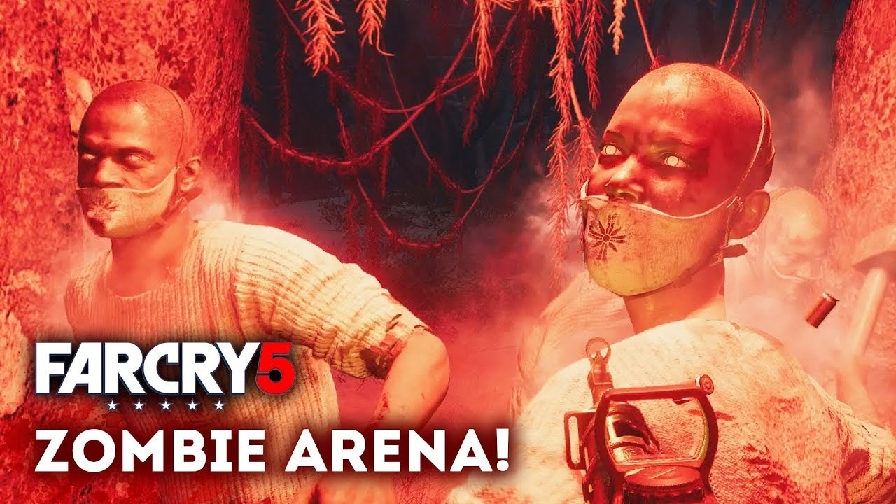 Far Cry 5 The Zombie Arena Gameplay Epic New Map From Arcade Zombie Dlc Prep Youtube