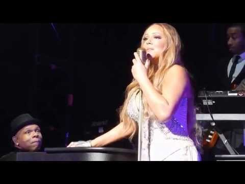 (HD) Mariah Carey - Lullaby of Birdland Melbourne 07-Nov-2014 Rod Laver Arena