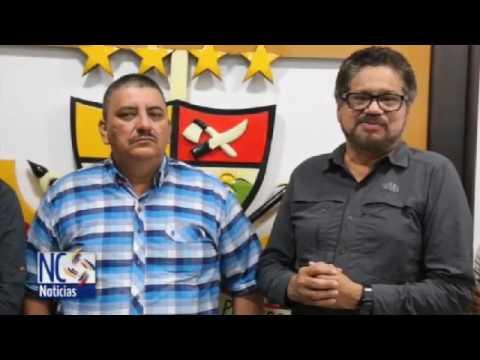 Delegados de las FARC-EP visitan al alcalde de Montañitas, Caquetá